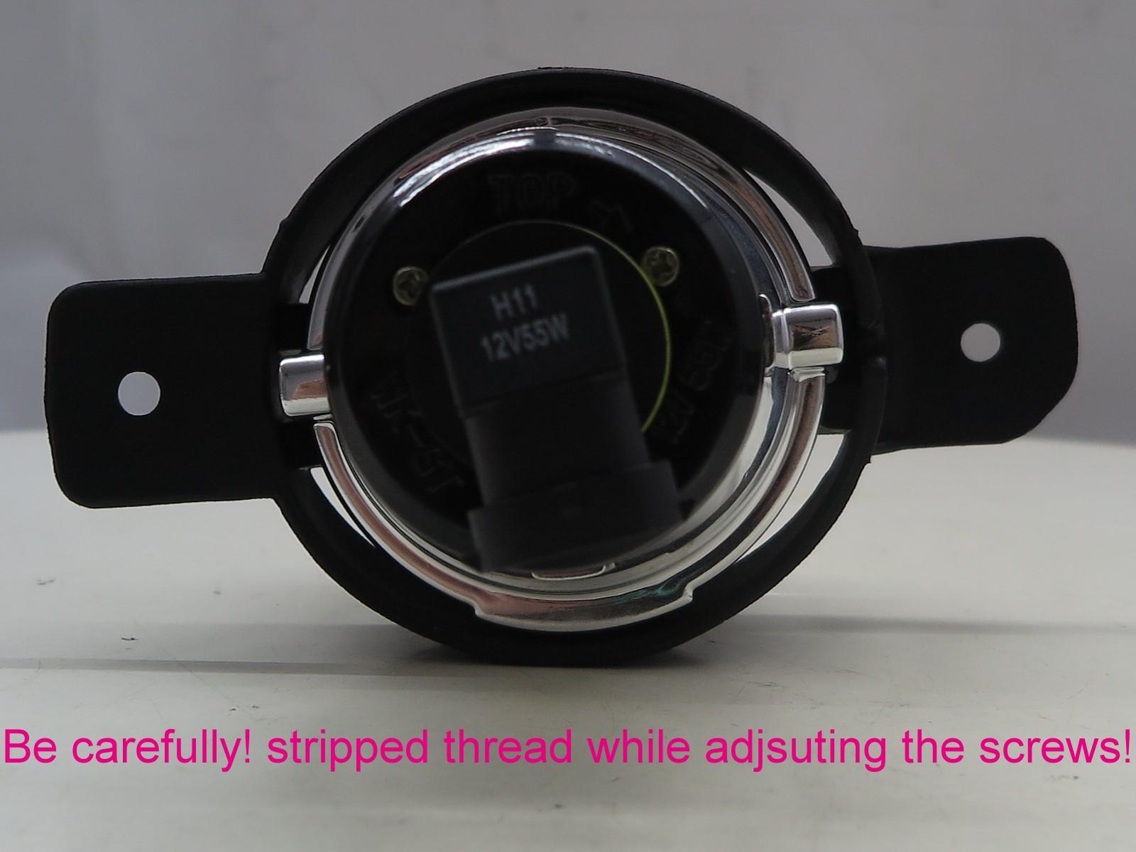 thumbnail 3 - Almera N16 MK2 2002-2006 Facelift 3D/4D/5D Projector Fog Light Black for NISSAN
