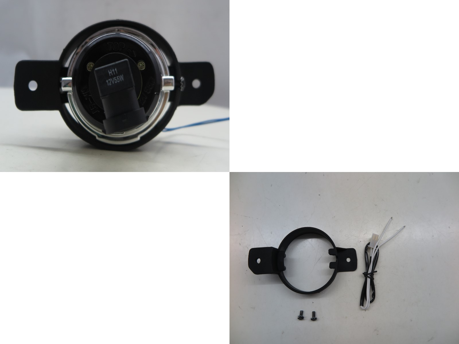 thumbnail 4 - Altima D32 MK4 2008-2014 Coupe 2D Projector Dual Beam Fog Light Black for NISSAN