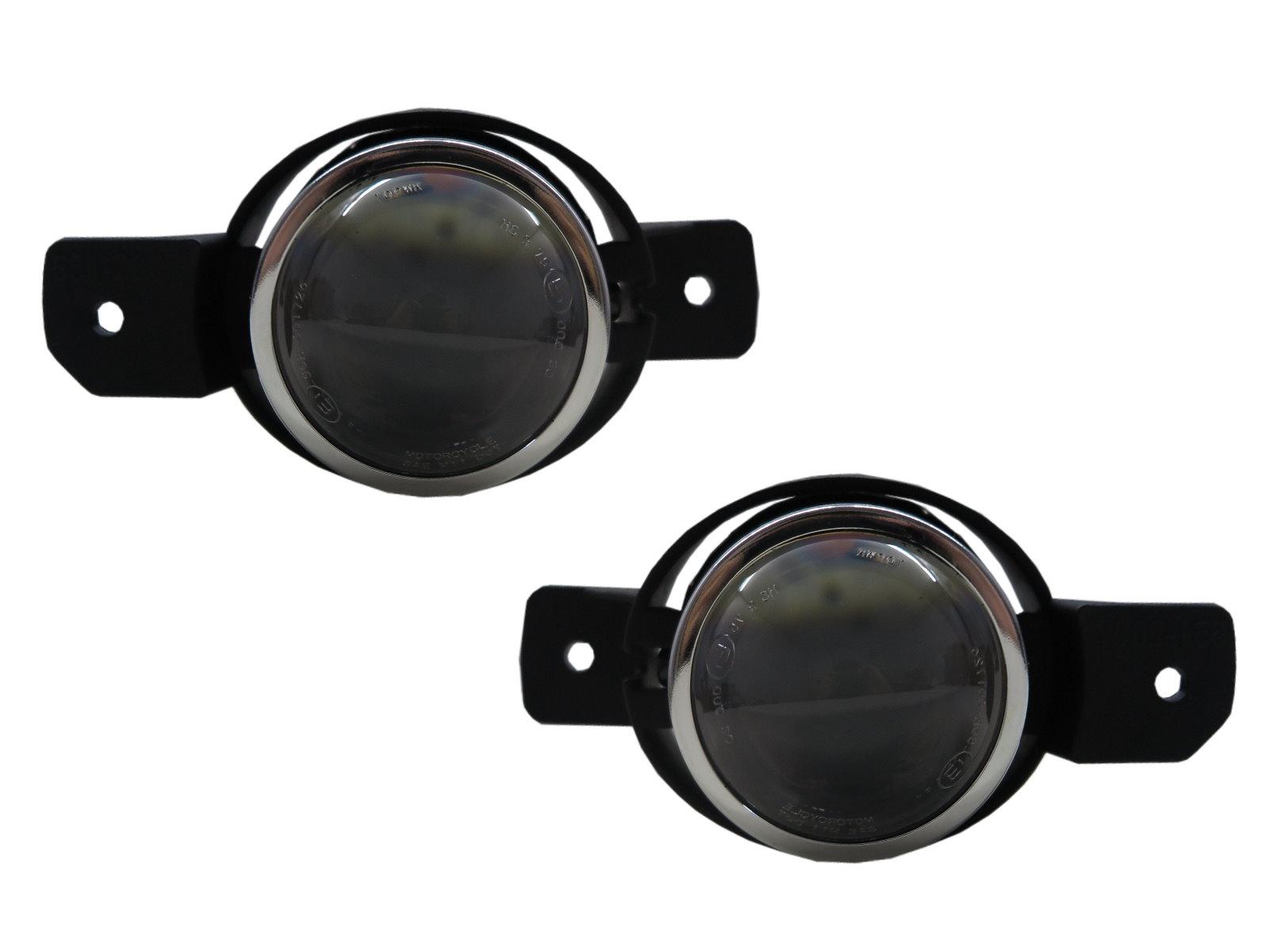 VERSA N17 Second generation 2012-2019 Sedan Projector Fog Light Black for NISSAN