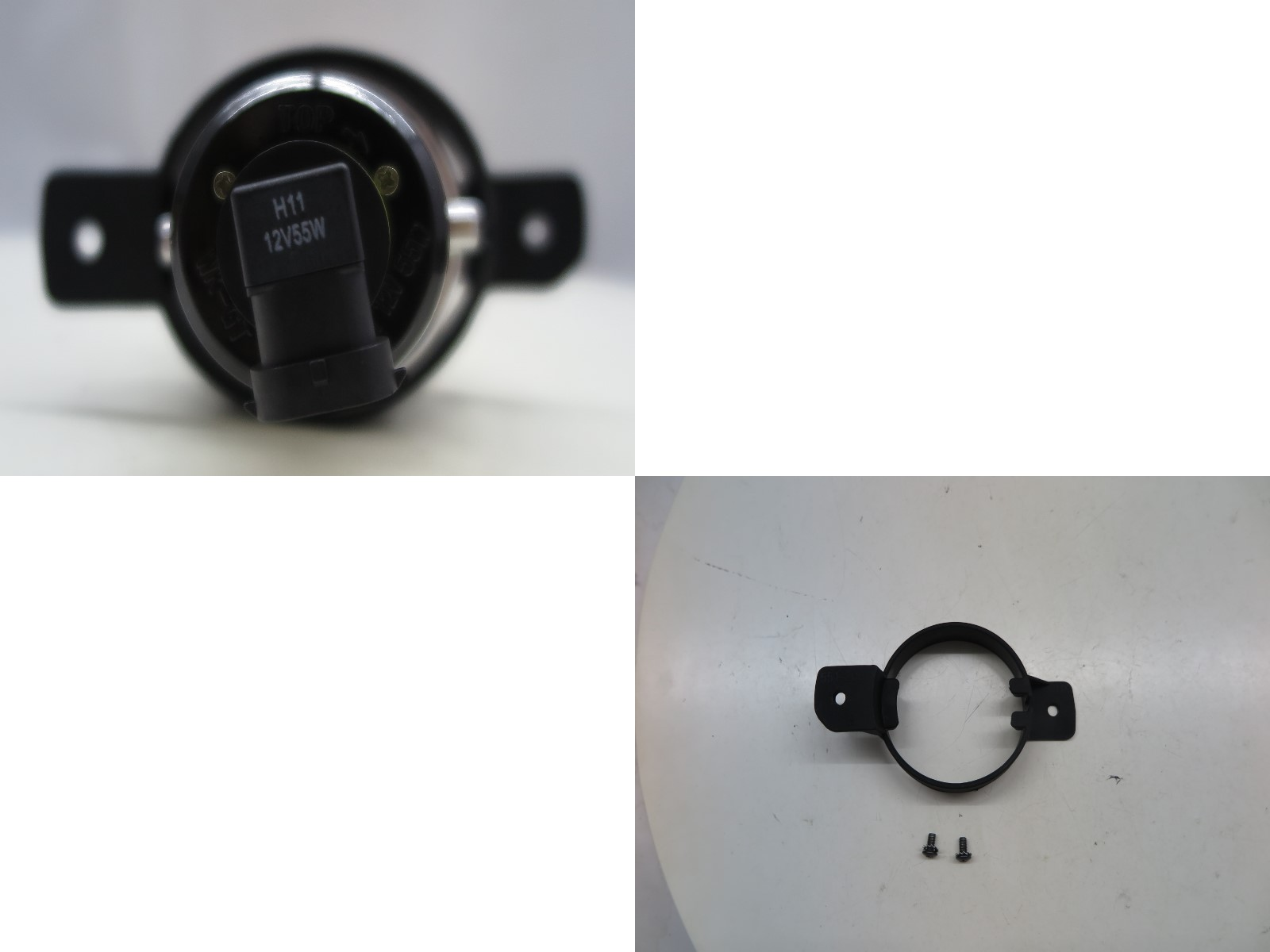 thumbnail 4 - VERSA N17 Second generation 2012-2019 Sedan Projector Fog Light Black for NISSAN