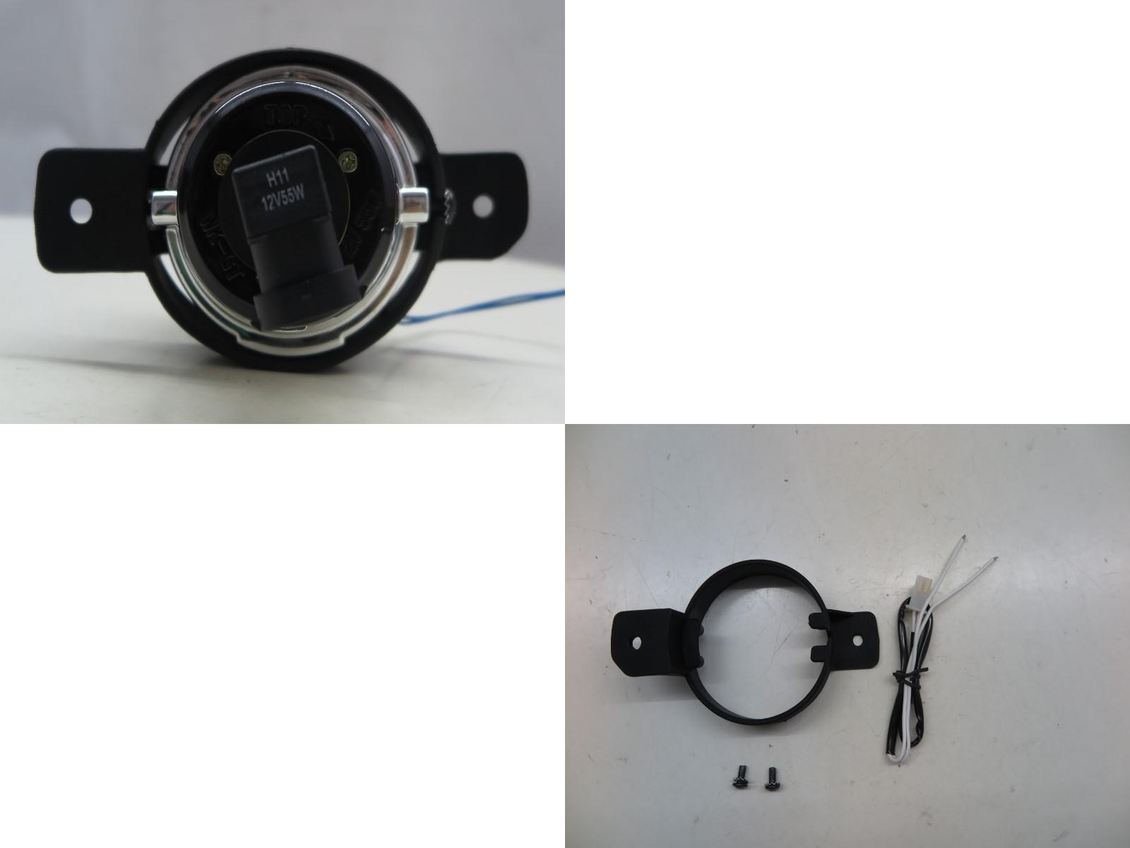 thumbnail 4 - Espace IV MK4 2003-2014 MPV 5D Projector Dual Beam Fog Light Black for RENAULT