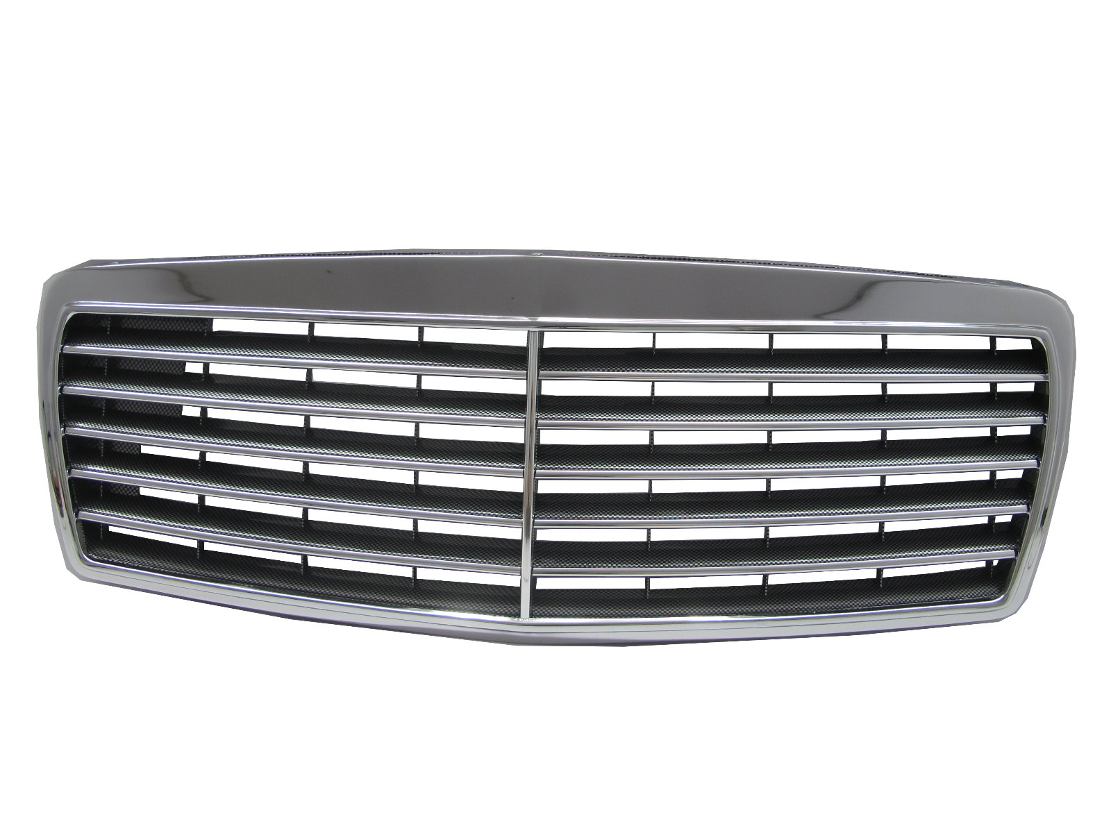 Mercedes W210 95-99 Carbon Kühlergrill Einsatz