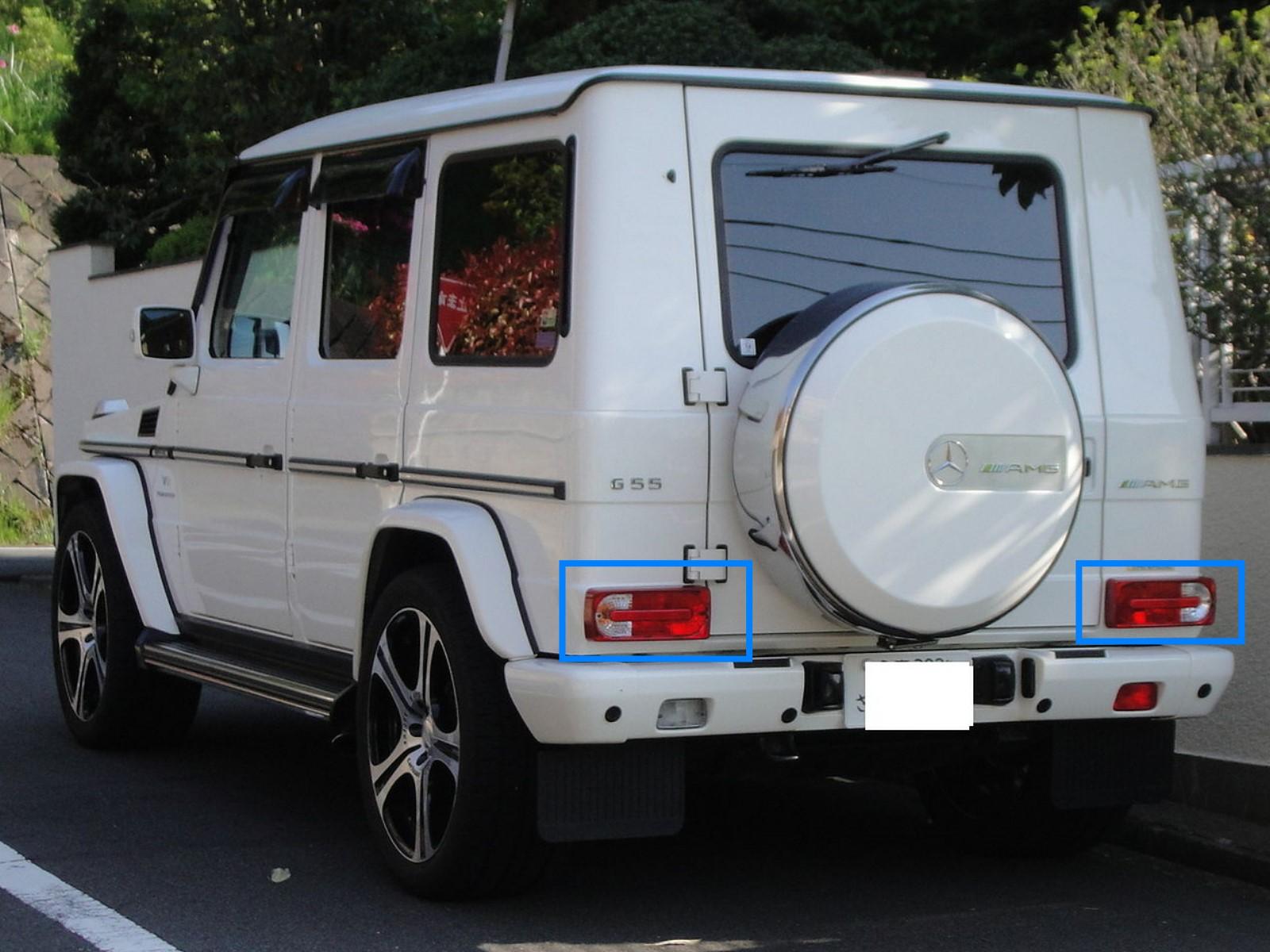 Fournisseur britannique Dernier Design Crystal Feux Arrière Pour Mercedes Benz W463 G-WAGON