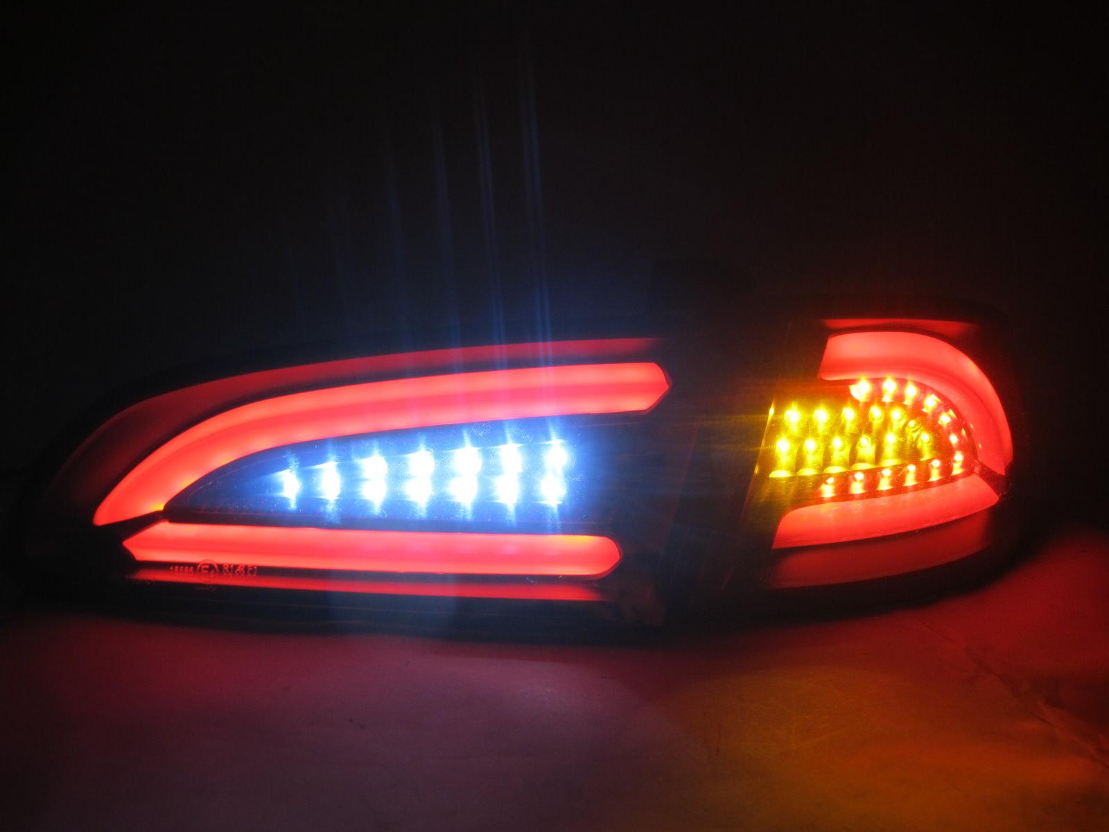 ibiza 6l 2002 2006 led bar tail rear light lamp v2 smoke. Black Bedroom Furniture Sets. Home Design Ideas