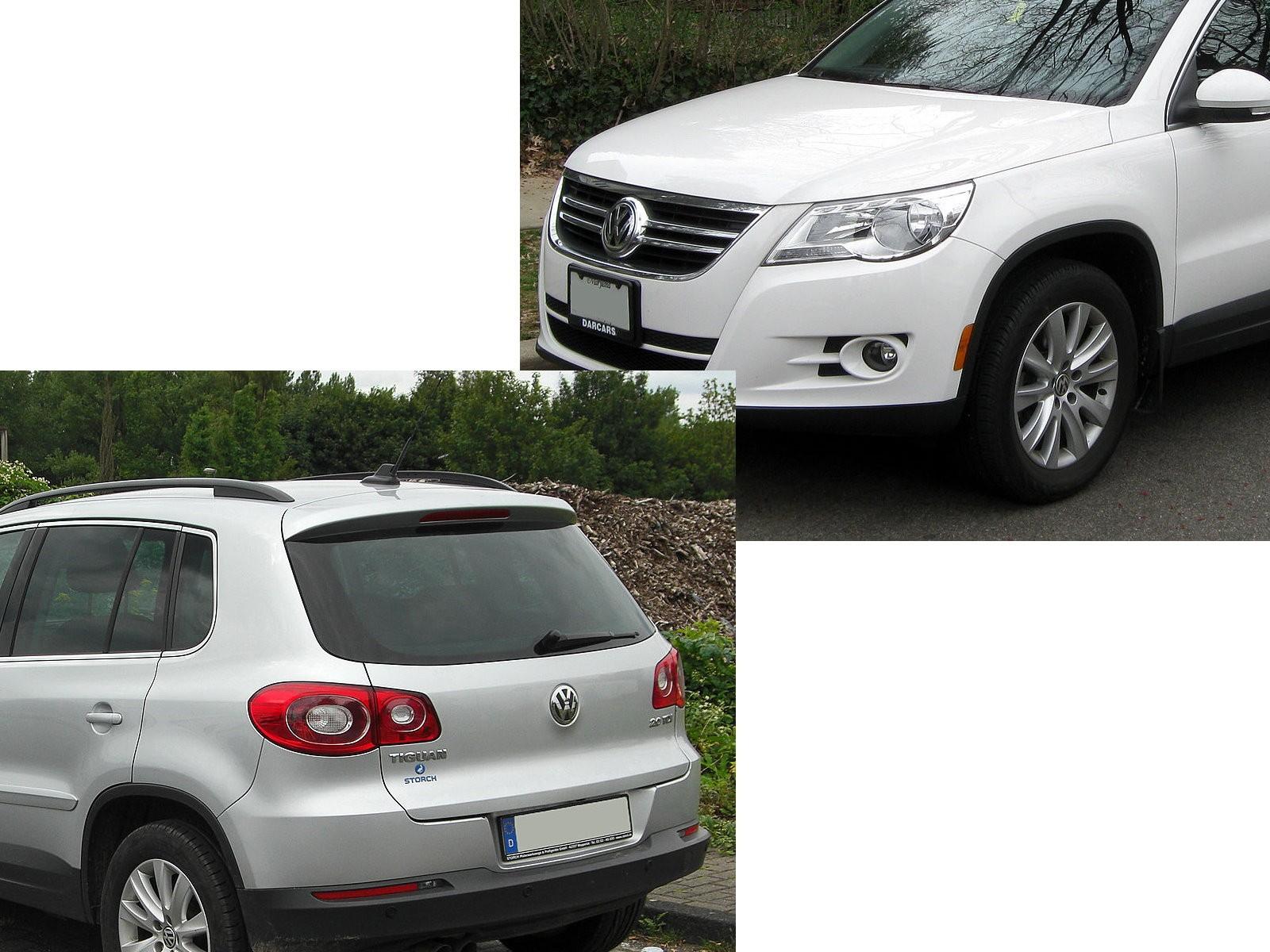 TIGUAN 5N 2007-2014 LED BAR Tail Rear Light Lamp V1 SMOKE for VW Volkswagen