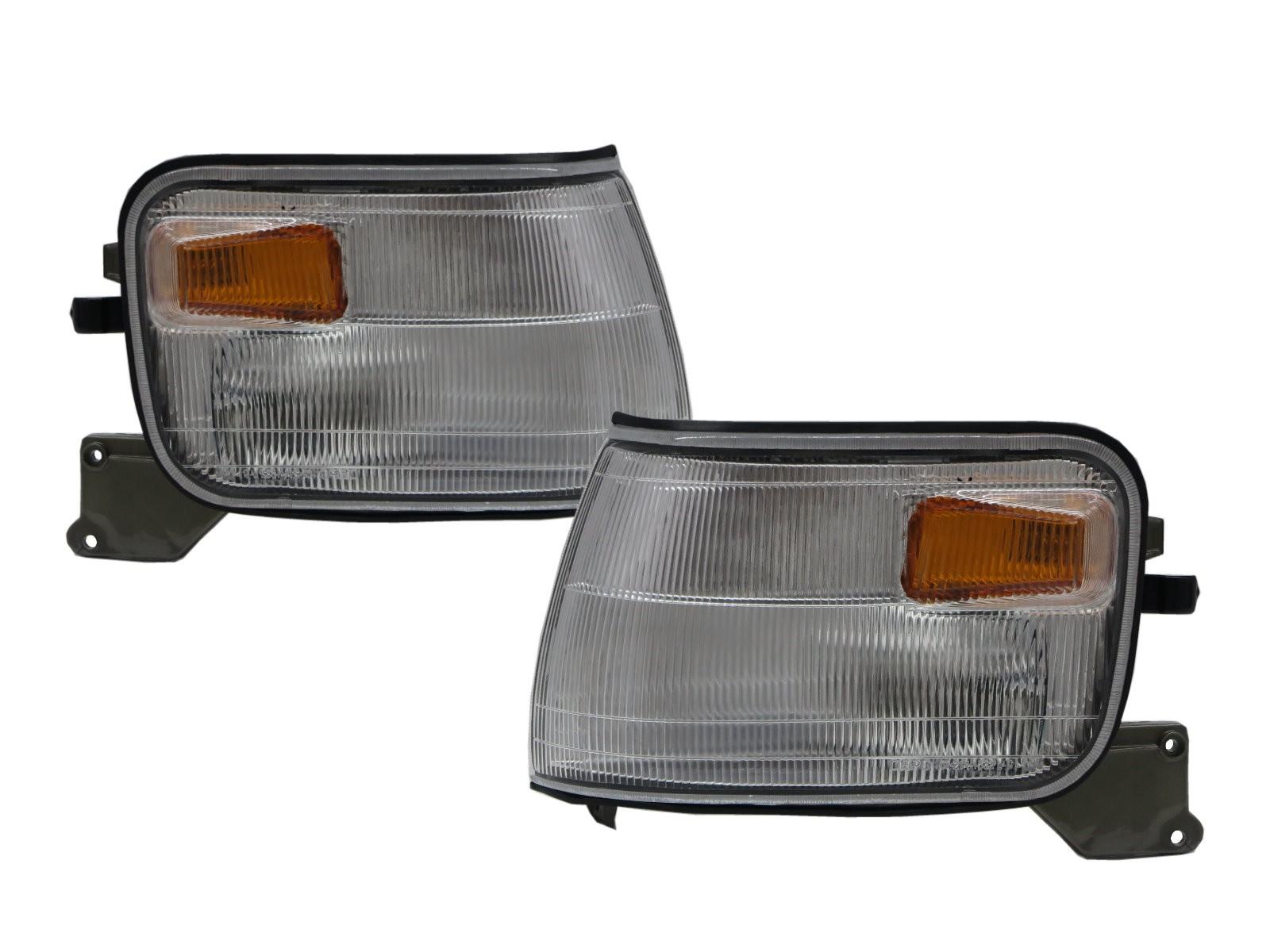 CrazyTheGod Dodge 1000 1999-present VAN 4D Clear Corner Light Chrome for DODGE