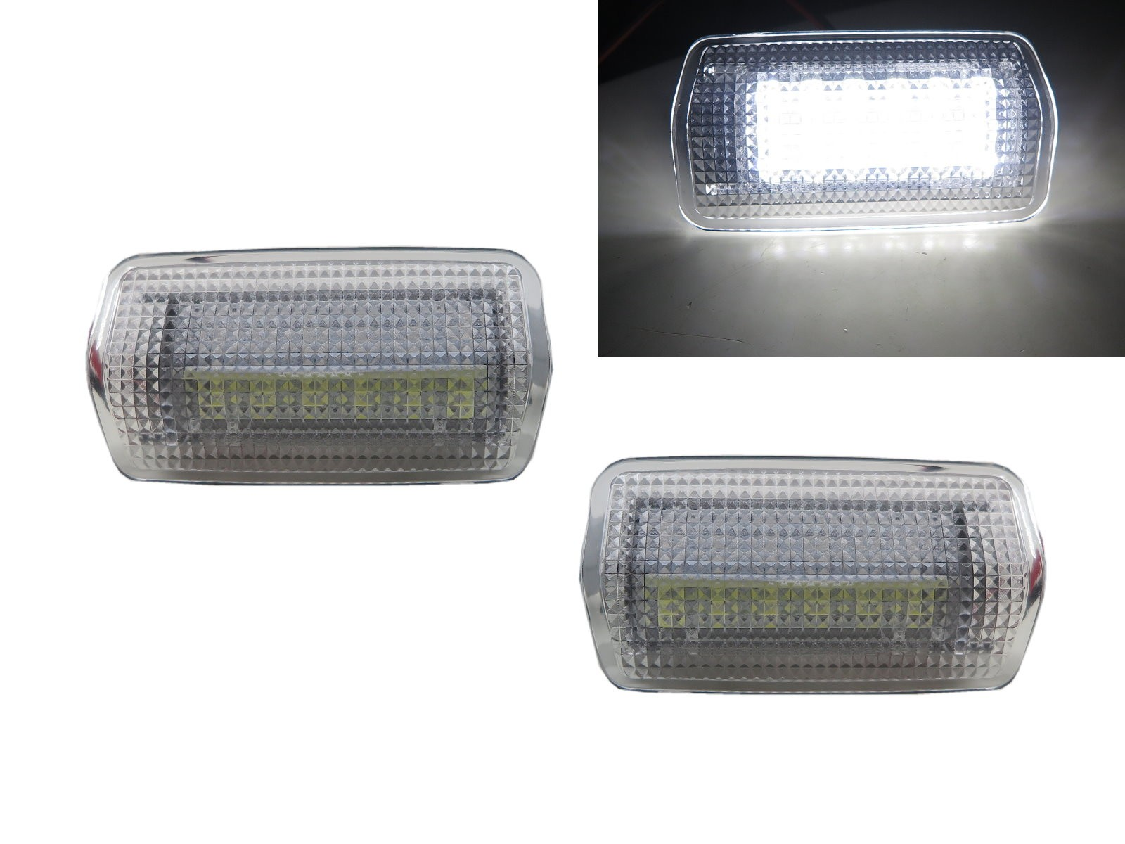 CrazyTheGod RX RX330/RX350/RX400H XU30 Second generation 2003-2008 SUV 5D LED Courtesy Side Door Light White for LEXUS