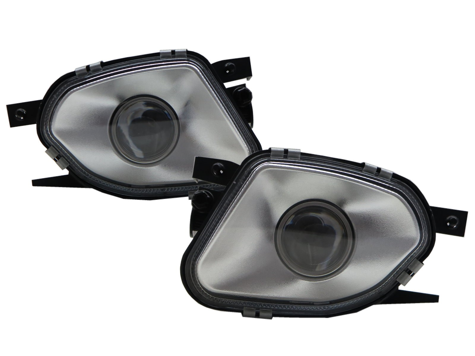 CrazyTheGod E-CLASS W211/S211 2002-2006 Sedan 4D Projector Fog Light Lamp Silver for Mercedes-Benz