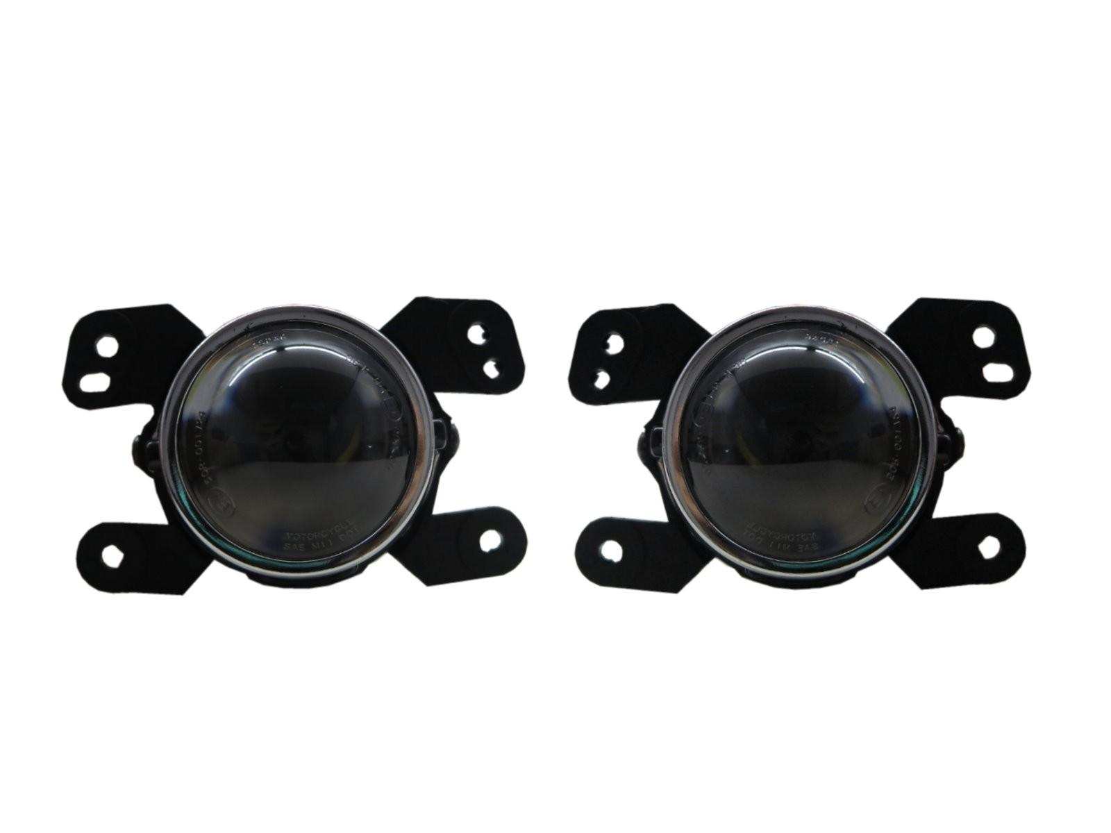 CrazyTheGod Freemont 2011-2016 SUV 5D Projector Fog Light Lamp Black for Fiat