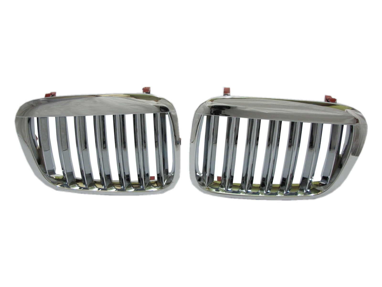 CrazyTheGod 3-Series E46 COMPACT 2000-2005 Hatchback 3D X5LOOK GRILLE/GRILL Chrome for BMW