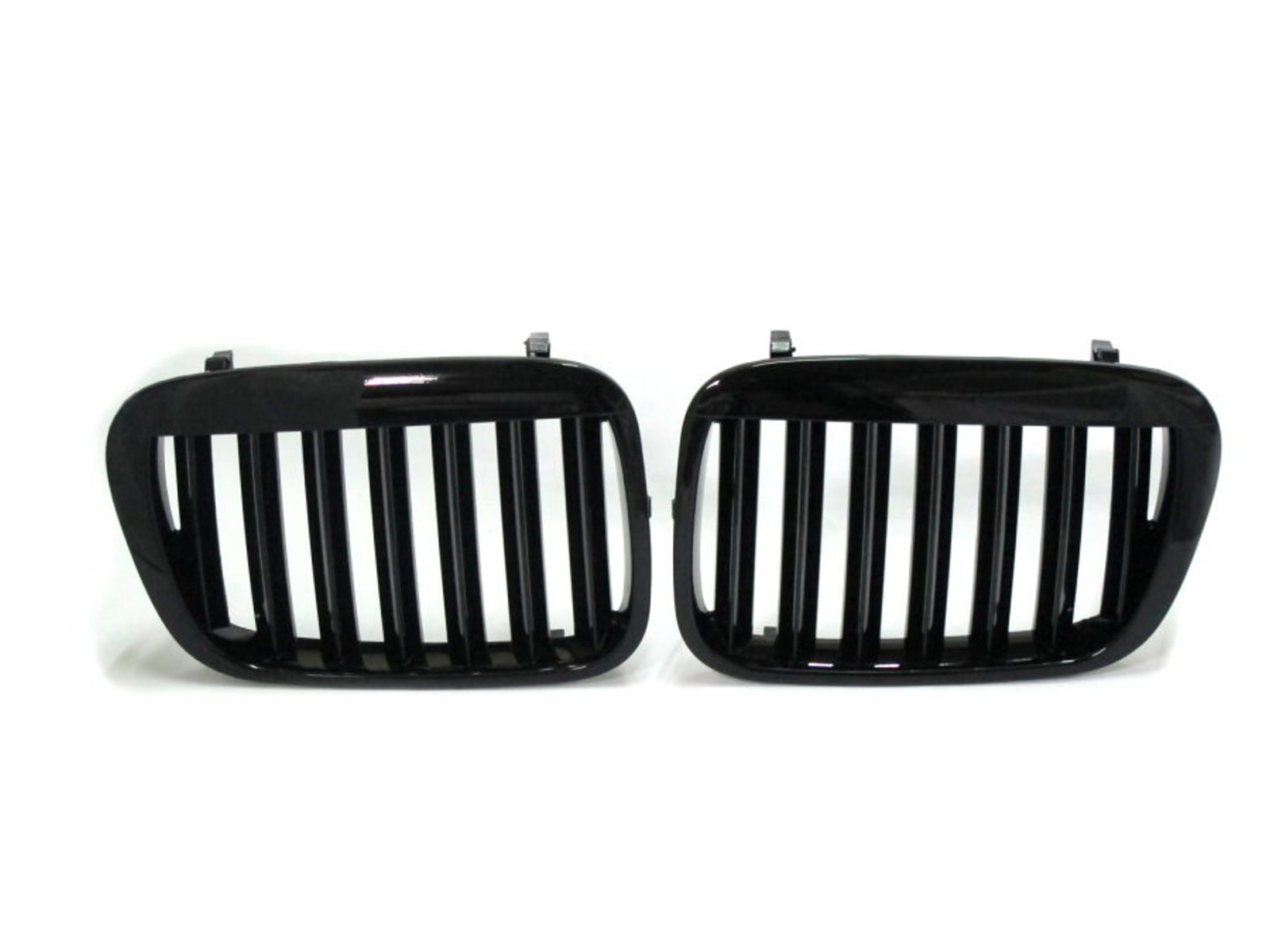 CrazyTheGod 3-Series E46 COMPACT 2000-2005 Hatchback 3D X5LOOK GRILLE/GRILL Gloss Black for BMW