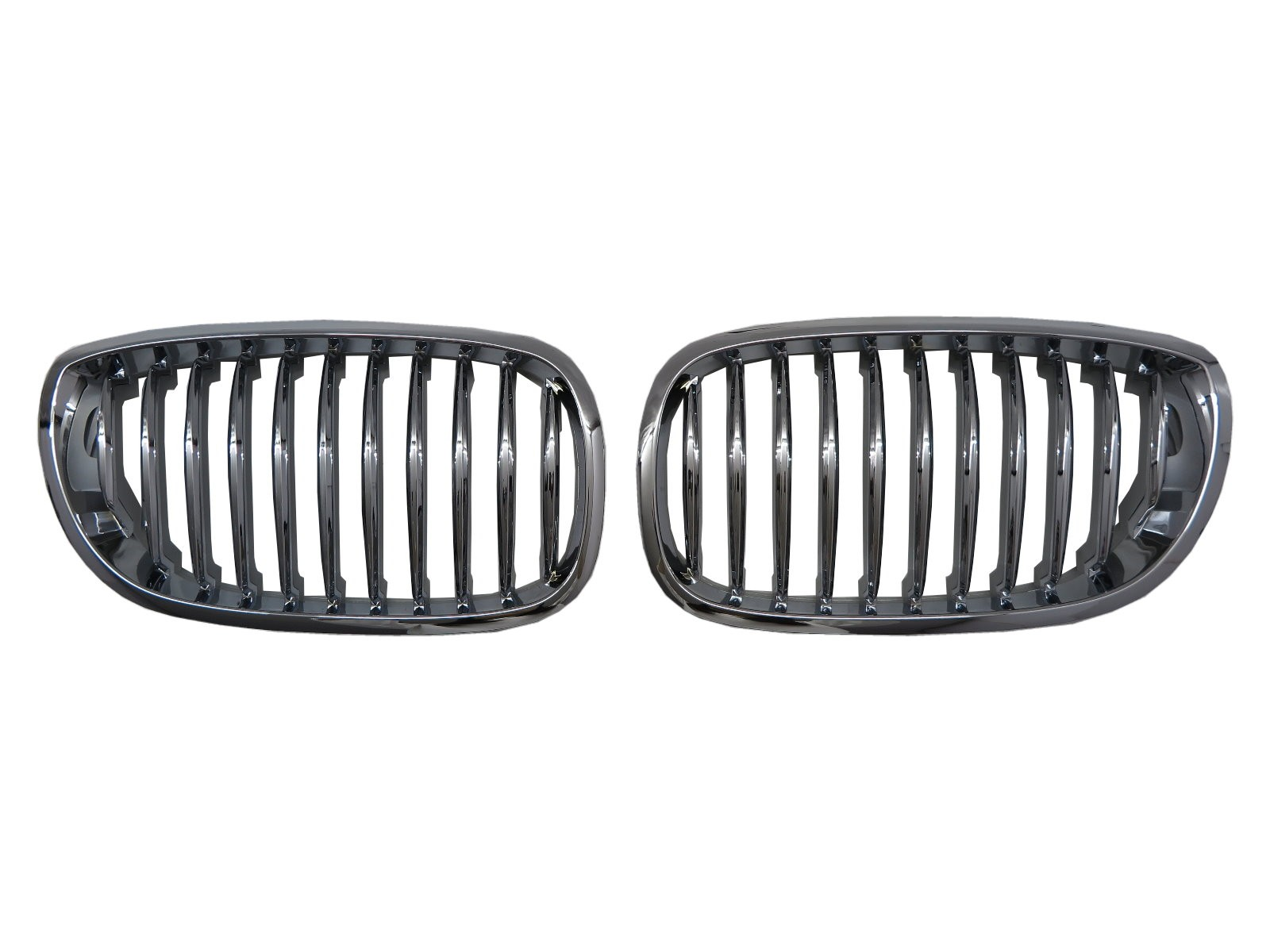 CrazyTheGod 3-Series E46 2002-2005 FACELIFT Coupe/Convertible 2D/3D GRILLE/GRILL Chrome for BMW