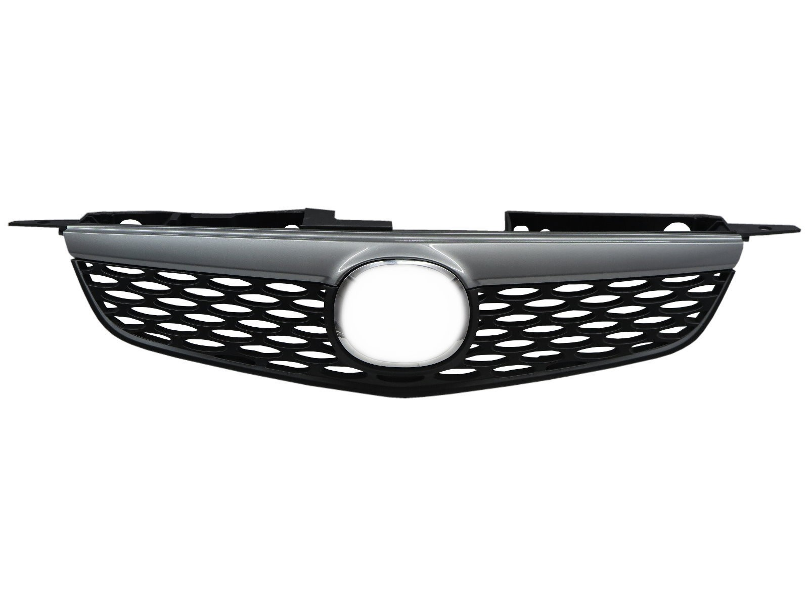 CrazyTheGod 323 BJ Eighth generation 1998-2004 Sedan 4D GRILLE/GRILL Chrome/Black for MAZDA