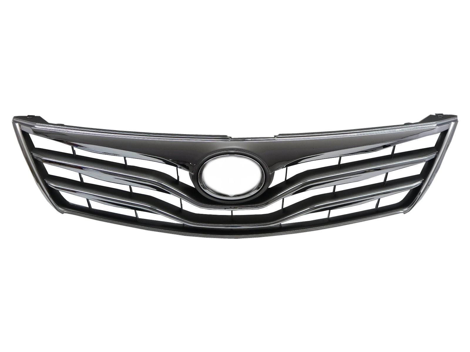CrazyTheGod AURION XV40 2009-2011 FACELIFT Sedan 4D GRILLE/GRILL Chrome V2 for TOYOTA