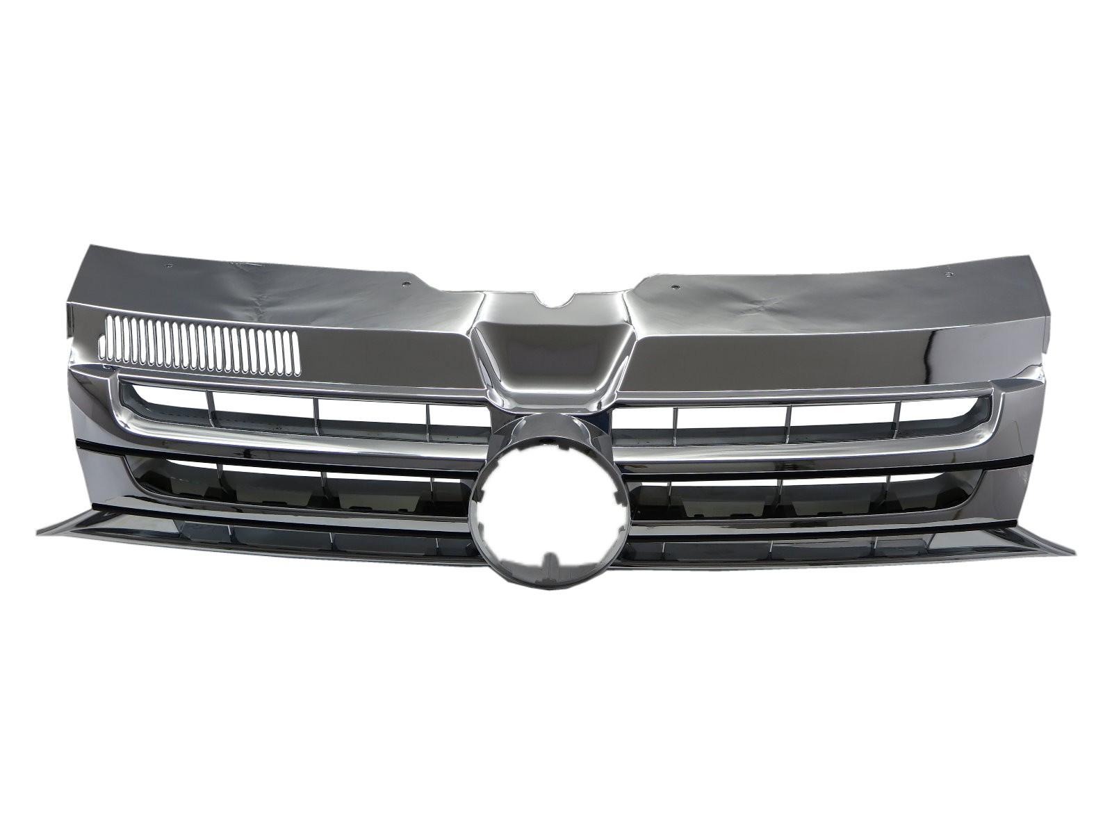 CrazyTheGod TRANSPORTER T5 Fifth generation 2011-2015 FACELIFT VAN 5D GRILLE/GRILL Chrome for VW Volkswagen