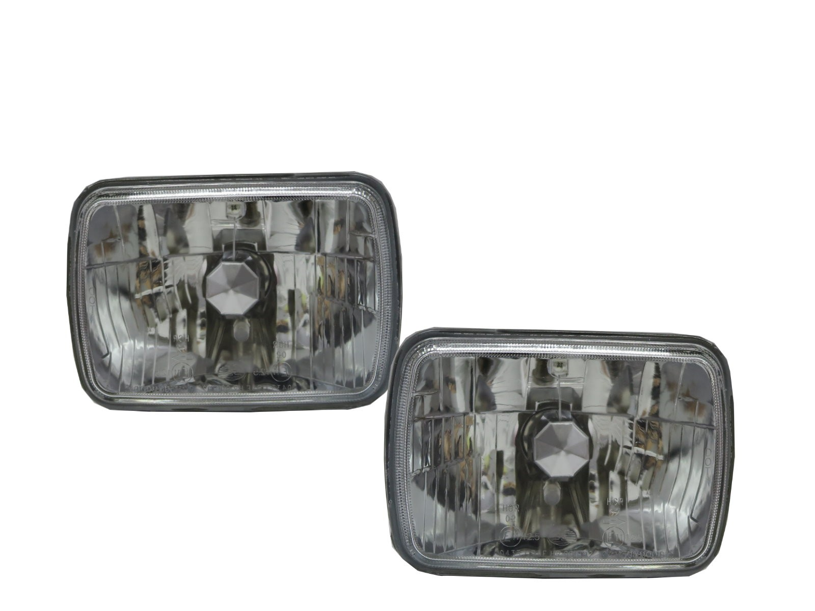 CrazyTheGod Bravada First generation 1991-1994 Wagon 5D Crystal Headlight Headlamp Chrome for OLDSMOBILE LHD