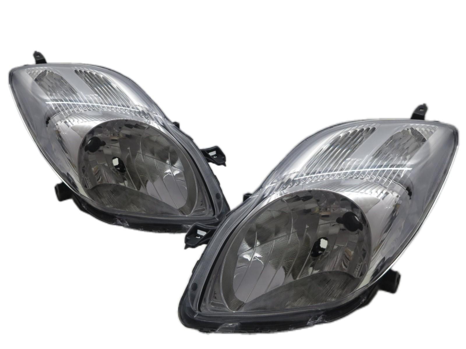 CrazyTheGod Charade XP90 2011-2013 Hatchback 3D/5D Clear Headlight Headlamp Chrome for DAIHATSU LHD