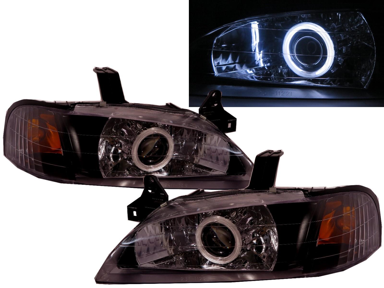 CrazyTheGod LASER KJ/KL 1994-1999 CCFL HID XENON Projector Headlight Headlamp  BLACK for FORD RHD