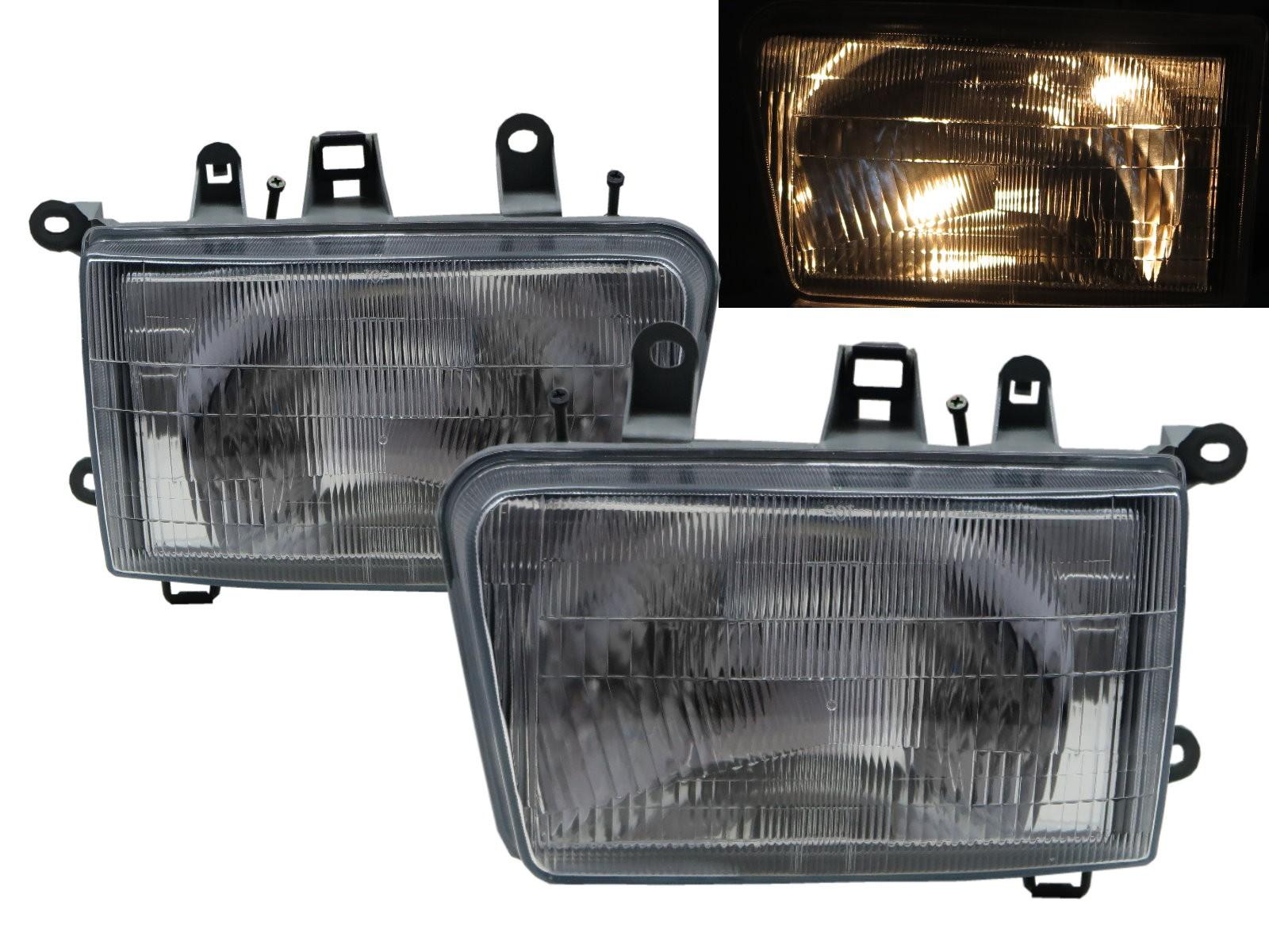 CrazyTheGod Safe 2002-2003 Wagon 3D/5D Clear Glass Headlight Headlamp Chrome for Great Wall LHD