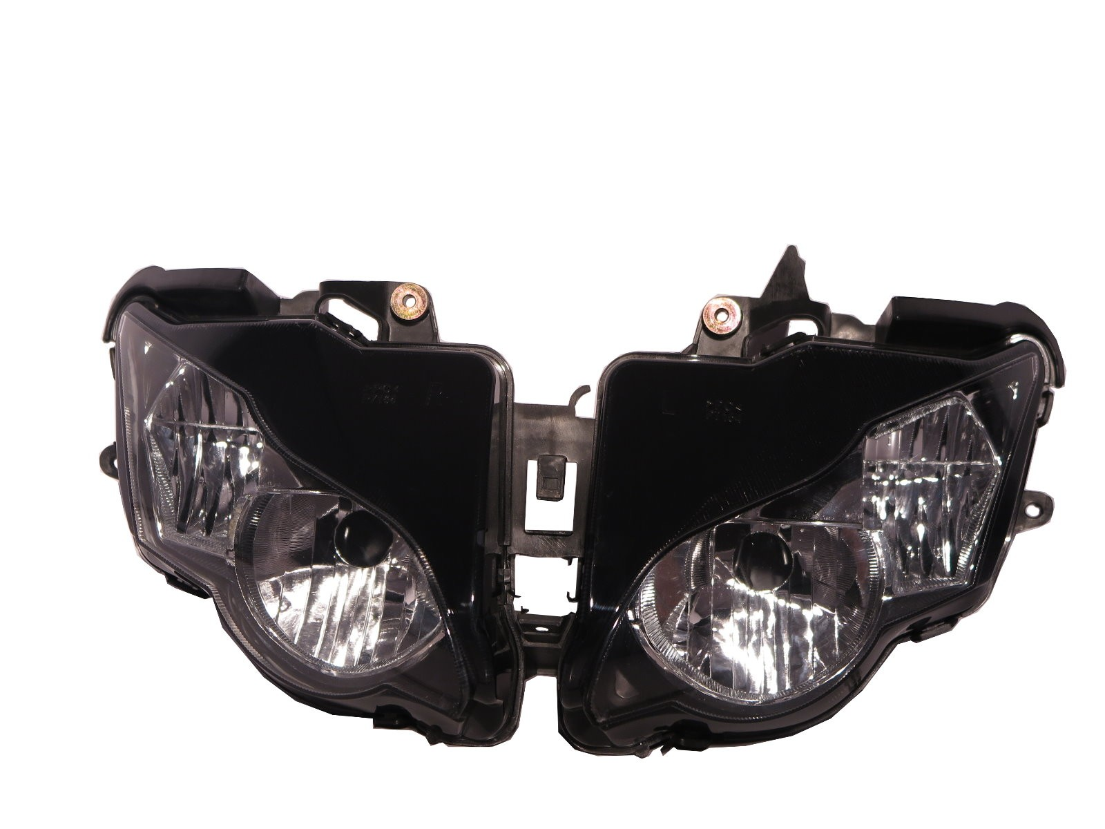 CrazyTheGod CBR1000RR 2008 2011 Motorcycles Crystal Headlight Headlamp Black for Honda Motor