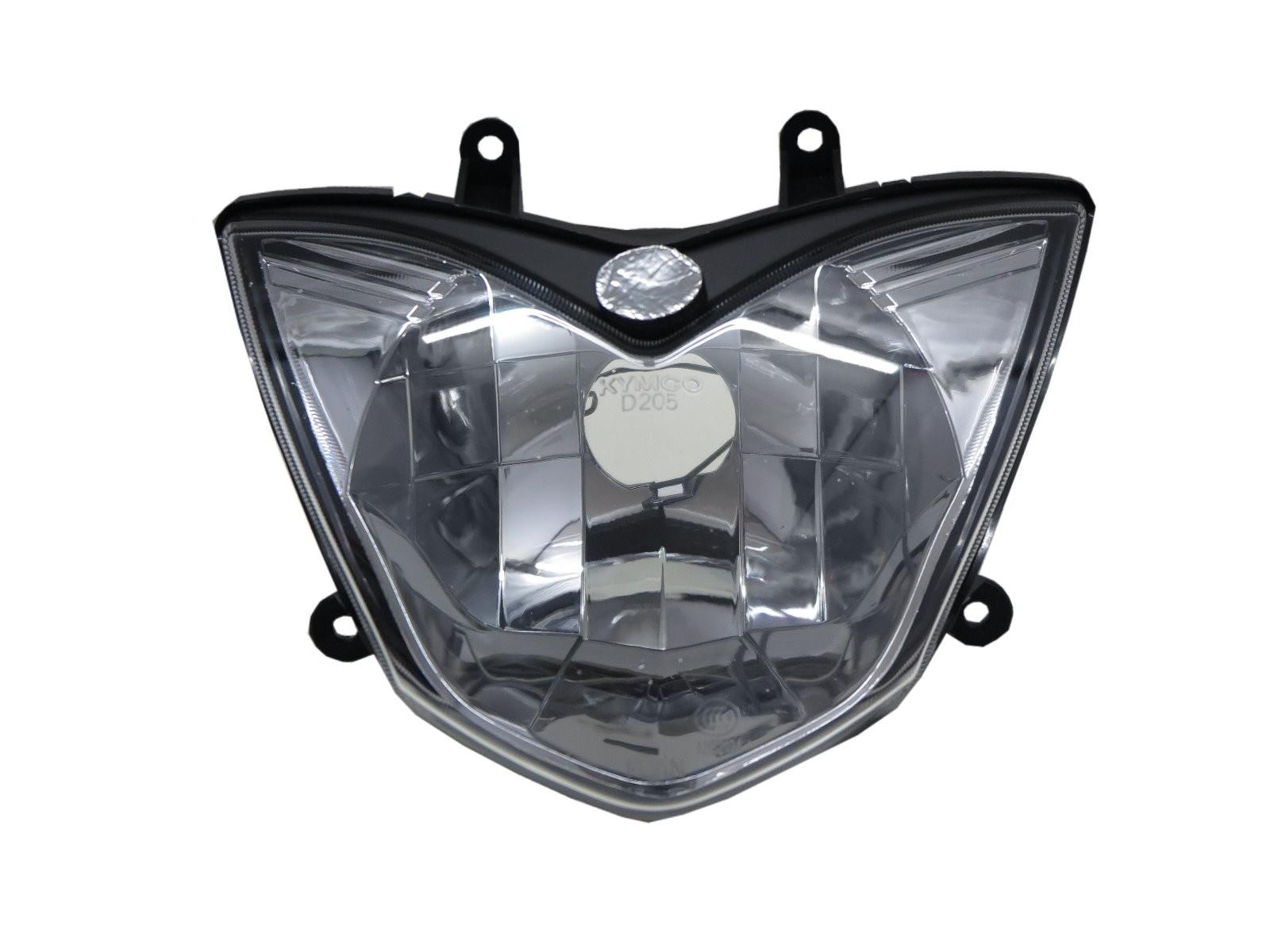 CrazyTheGod GP125 2014-Present Motorcycles Clear Headlight Headlamp Chrome for KYMCO