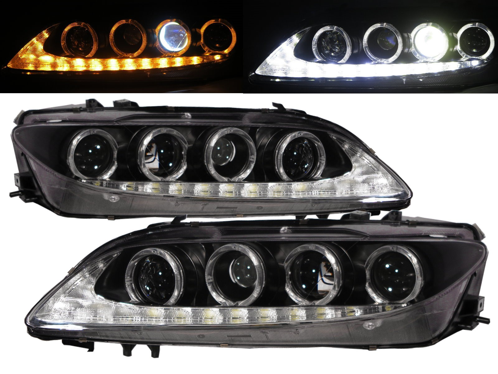 pictures pic sedan image headlight large picture mazda