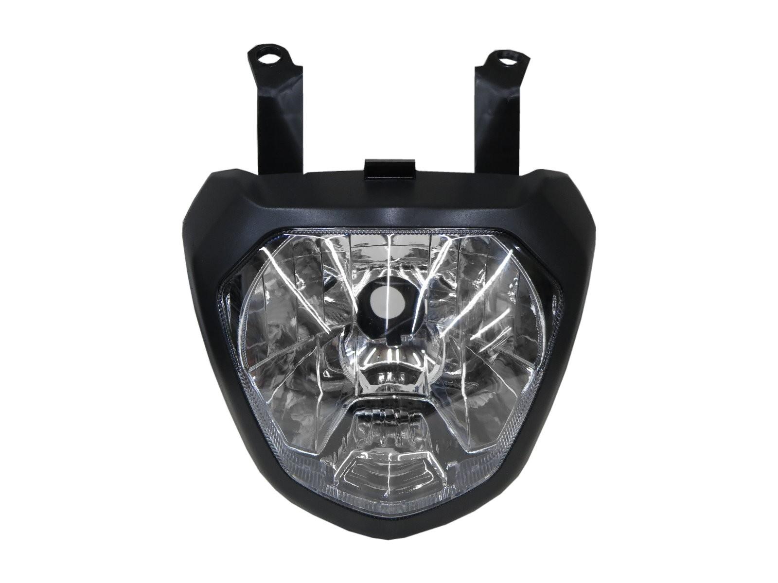 CrazyTheGod MT series MT-07 2014-2017 Motorcycles Clear Headlight Headlamp Chrome for YAMAHA