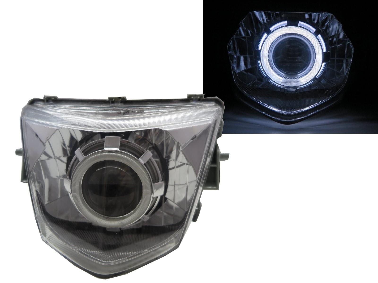 CrazyTheGod RS Zero 2012-2014 Scooters CCFL Projector Headlight Headlamp Chrome for YAMAHA