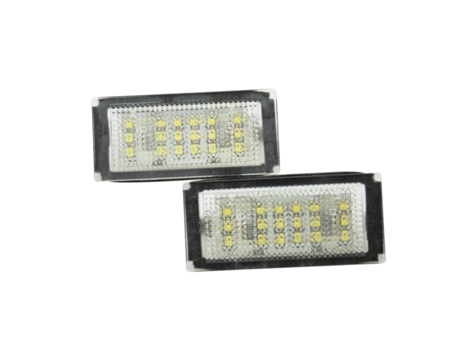CrazyTheGod 3-Series E46 2004-2006 Facelift Sedan/Coupe 2D/4D LED License Lamp White for BMW
