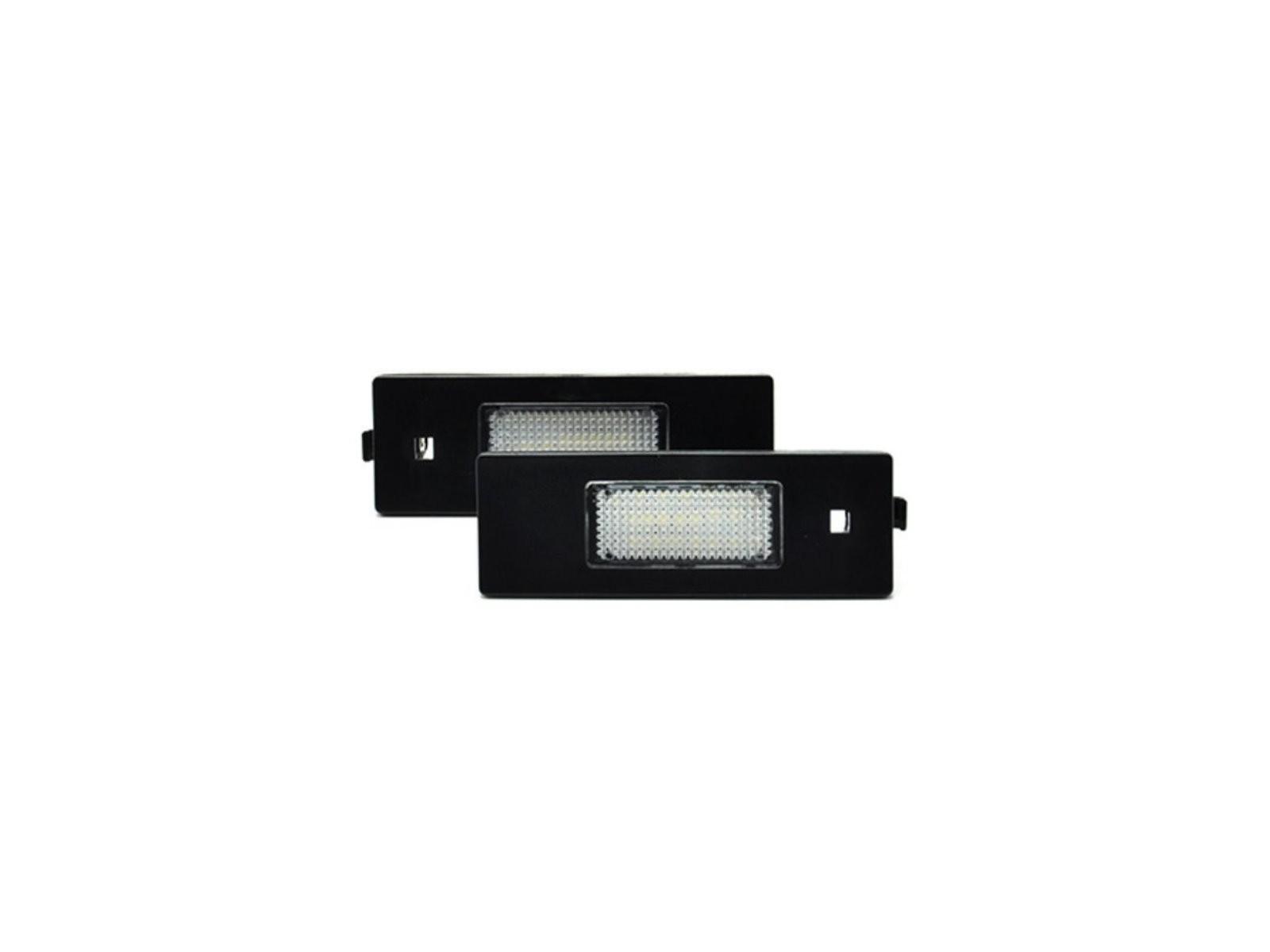 CrazyTheGod 1-Series F20 First generation 2012-Present Hatchback 4D LED License Lamp White for BMW