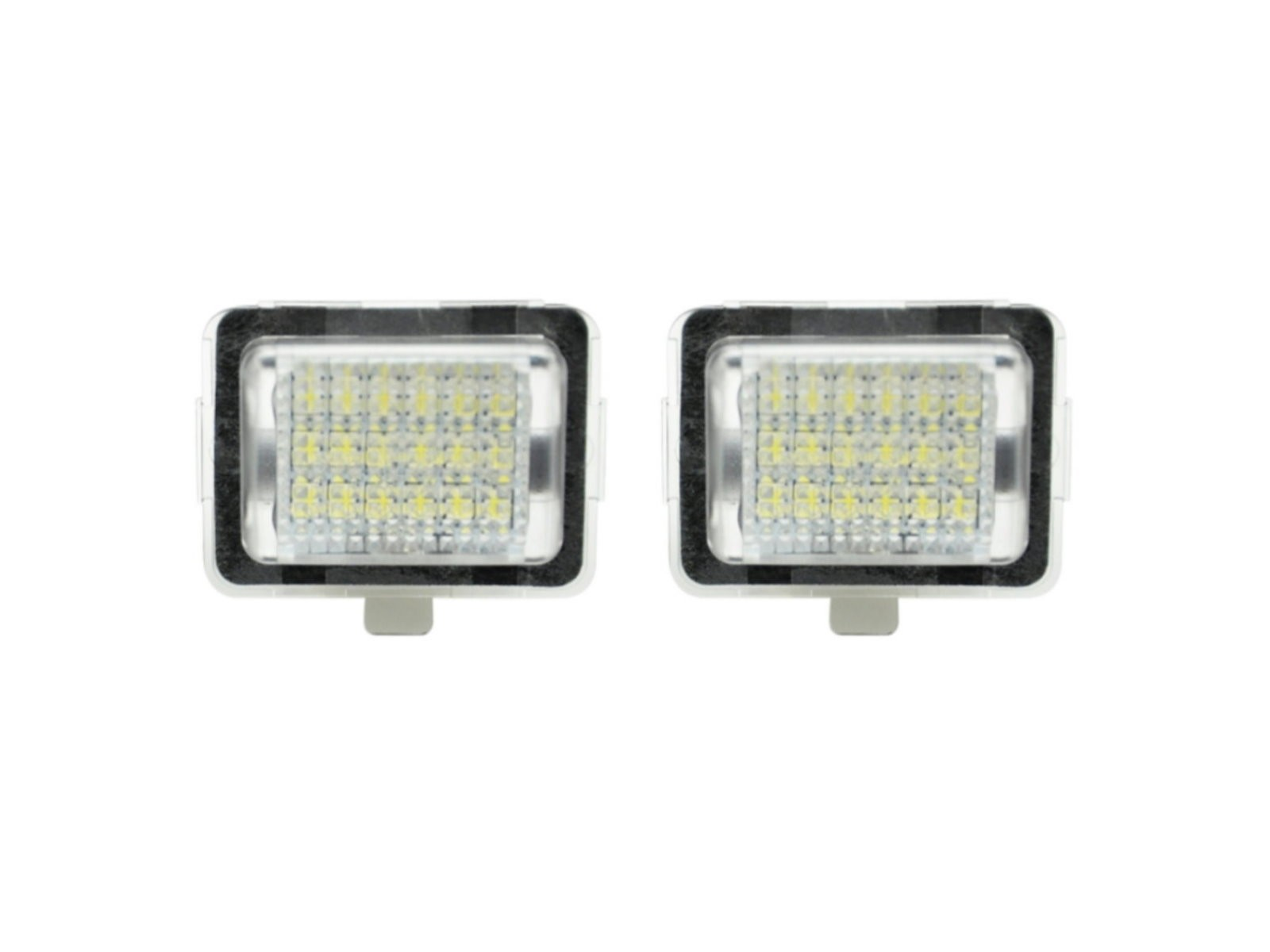 CrazyTheGod E-CLASS C207/A207 Fourth generation 2009-2011 Convertible/Coupe 2D LED License Lamp White for Mercedes-Benz