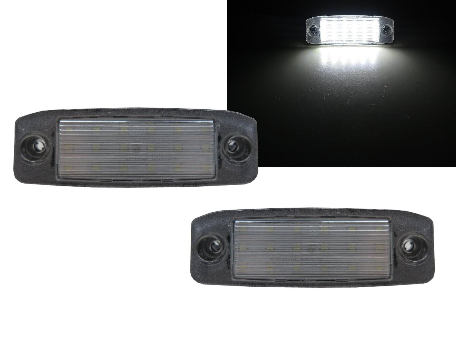 CrazyTheGod SONATA YF Sixth generation 2010-2013 Sedan 4D LED License Lamp White for HYUNDAI
