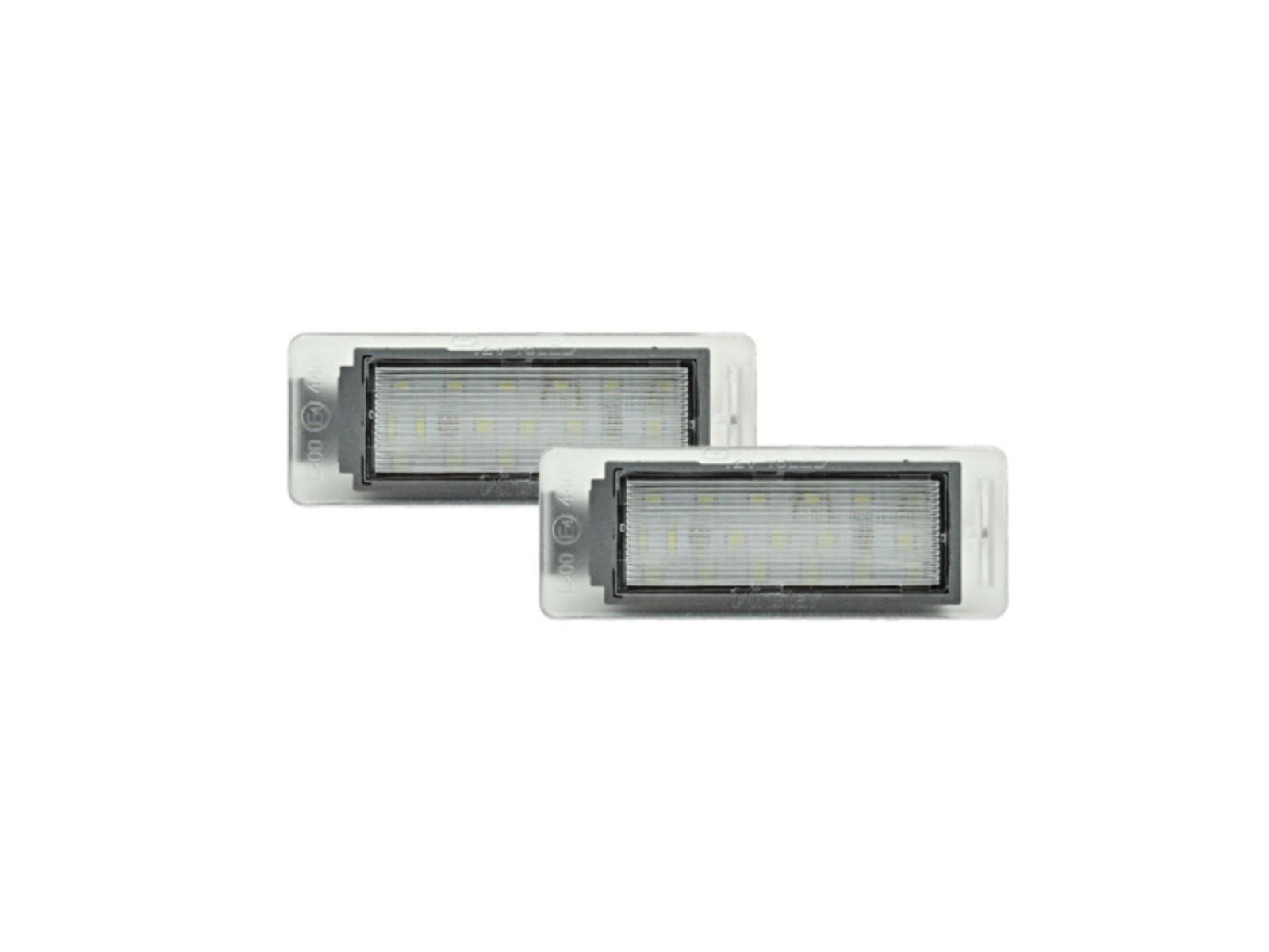 CrazyTheGod CTS 2013-2014 Sedan 4D LED W/ Canbus License Lamp White for CADILLAC