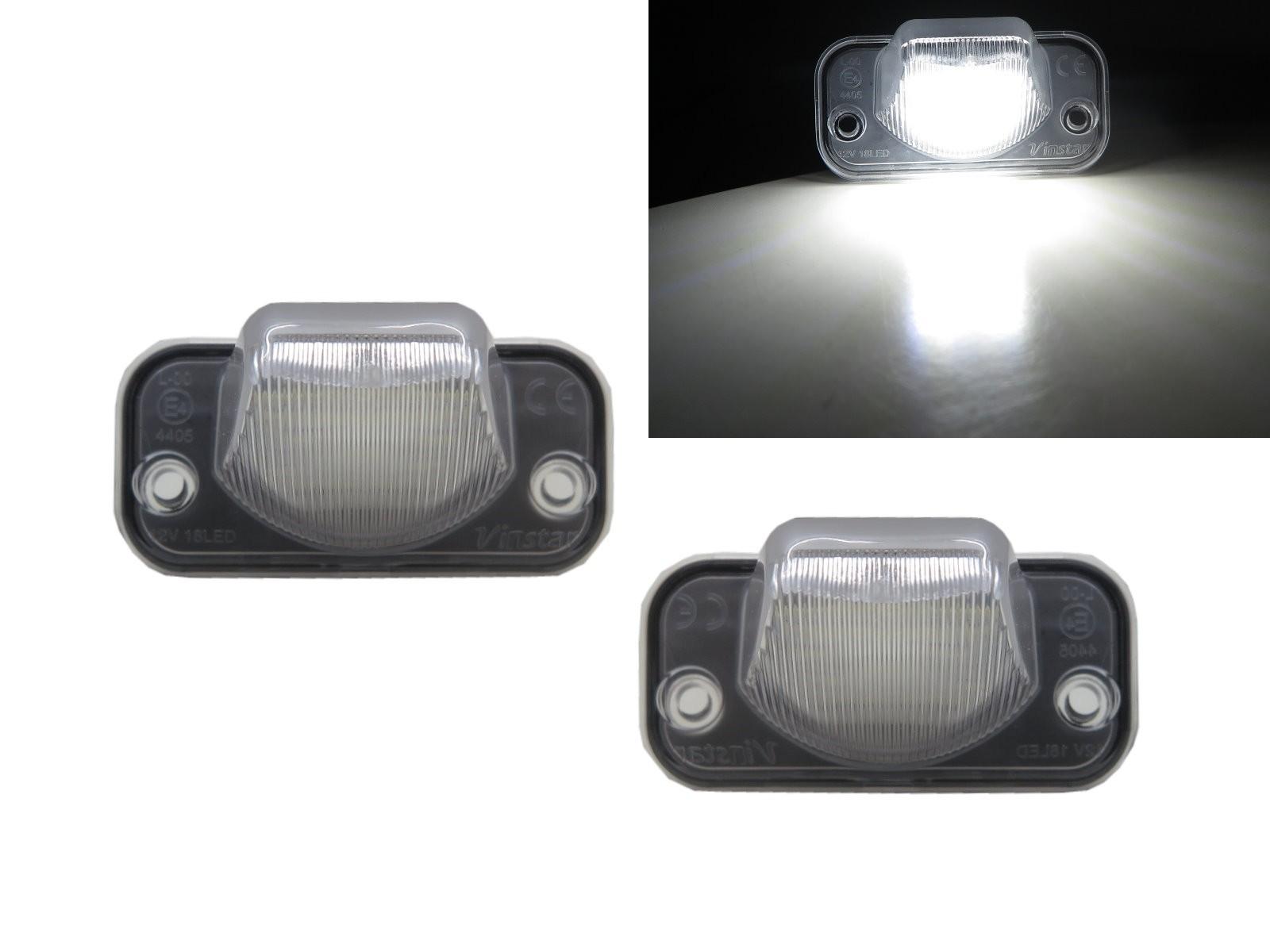CrazyTheGod SYNCRO 2005-Present Sedan/Wagon 4D/5D LED License Lamp White for VW Volkswagen