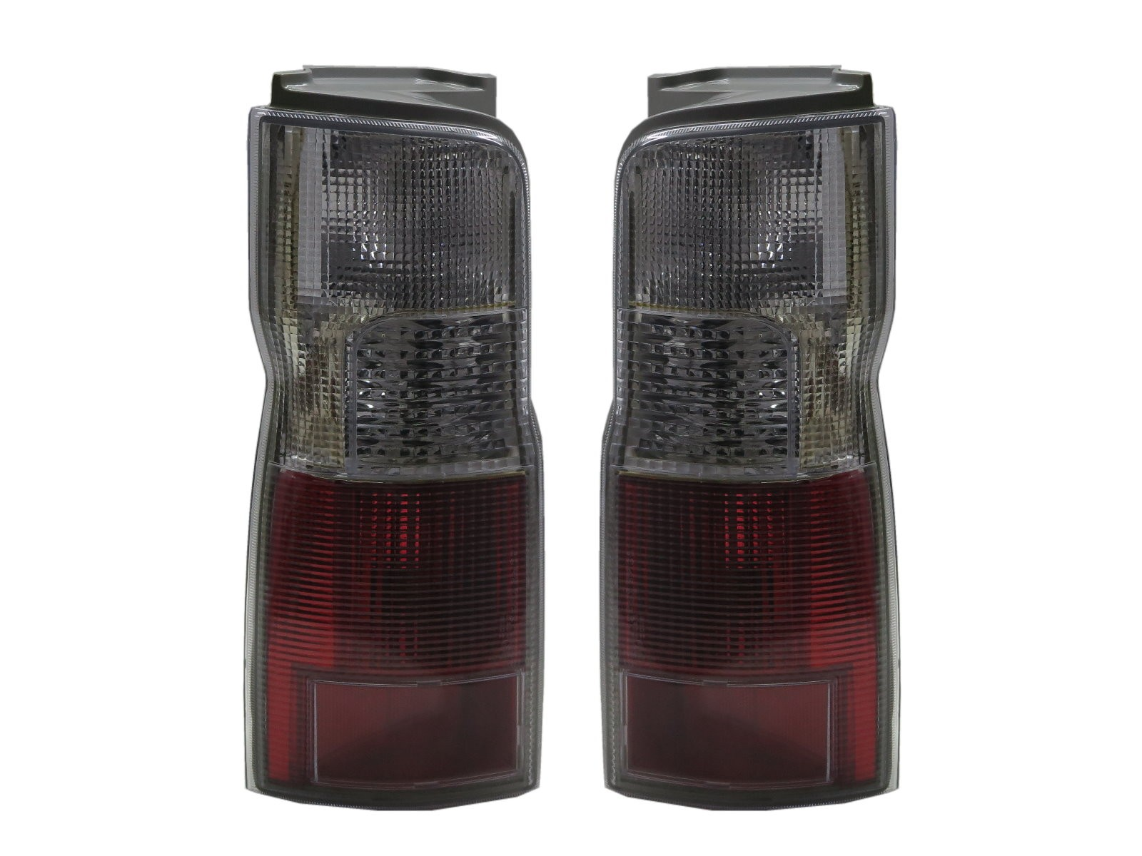 CrazyTheGod Como E25 First generation 2001-2012 VAN 3D/4D OE Tail Rear Light Red/White for ISUZU