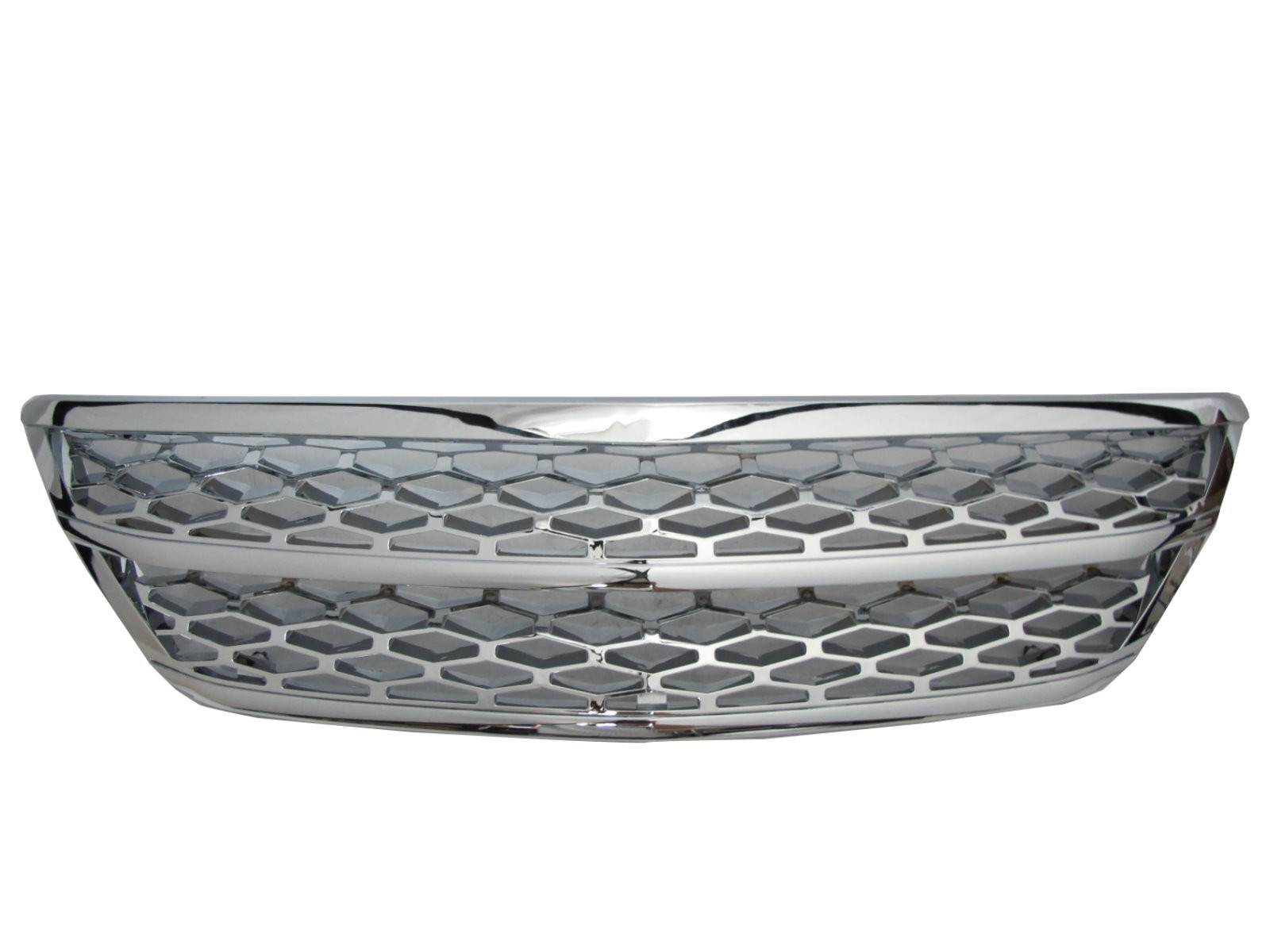 CrazyTheGod RX RX330/RX350/RX400H XU30 Second generation 2003-2009 SUV 5D Honeycomb Mesh GRILLE/GRILL Chrome for LEXUS