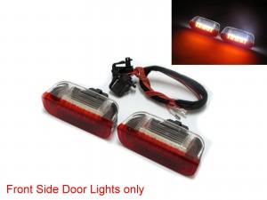 CrazyTheGod Golf 5 2003-2009 Hatchback/Wagon 3D/5D LED Courtesy Side Door Light Red/White for VW Volkswagen