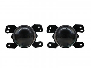 CrazyTheGod Charger Seventh generation 2011-2013 Sedan 4D Projector Fog Light Lamp Black for DODGE