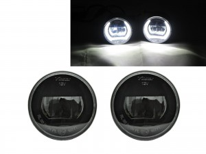 CrazyTheGod NOTE First generation 2004-2013 MPV 5D LED Fog Light Lamp DRL Daytime Running for NISSAN