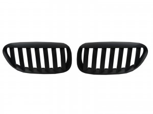 CrazyTheGod 6-Series E63/E64 2003-2010 Coupe 2D M6Look GRILLE/GRILL Matt Black for BMW