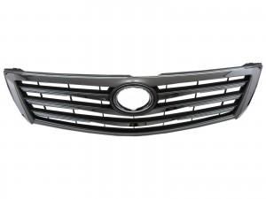 CrazyTheGod CAMRY XV40 2009-2011 FACELIFT Sedan 4D 4FIN GRILLE/GRILL Chrome for TOYOTA
