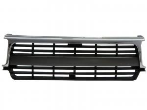 CrazyTheGod LAND CRUISER FJ80/HZJ80/HDJ80/FZJ80 1990-1997 SUV 5D OE GRILLE/GRILL Chrome/Gray for TOYOTA
