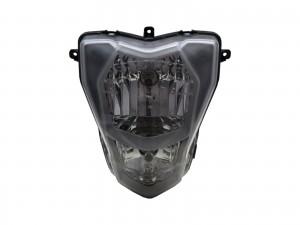 CrazyTheGod TNT 300 2017-Present Motorcycles Clear Headlight Headlamp Chrome for Benelli