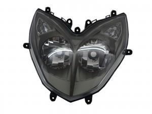 CrazyTheGod Racing 2013-2014 Motorcycles Clear Headlight Headlamp Black for Kymco