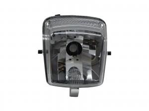 CrazyTheGod Cuxi Motorcycles Clear Headlight Headlamp Chrome for YAMAHA