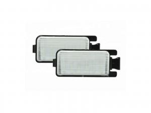 CrazyTheGod VERSA C11 First generation 2006-2012 Sedan 4D LED License Lamp White for NISSAN