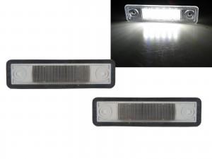 CrazyTheGod Vectra B 1995-2003 Sedan/Wagon 4D/5D LED License Lamp White for OPEL