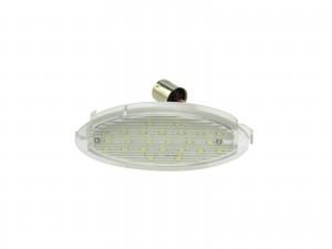 CrazyTheGod Astra G 1998-2009 MPV 5D LED License Lamp White for OPEL