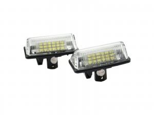CrazyTheGod Alphard AH10 2002-Present VAN 5D LED License Lamp White for TOYOTA