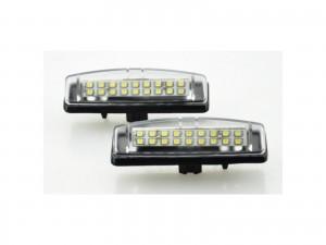 CrazyTheGod GS GS300/GS400/GS430 S160 Second generation 1997-2005 Sedan 4D LED License Lamp White for LEXUS